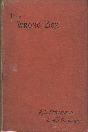 The Wrong Box (novel) - First edition cover