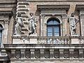 Three western statues. Southern facade. Corvinus University. Listed ID 1037. - 1-9, Sóház Street, Budapest District IX., Hungary.JPG