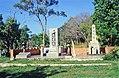 Thursday Island Cemetery - Japanese memorial adjacent to Japanese graves (2001).jpg