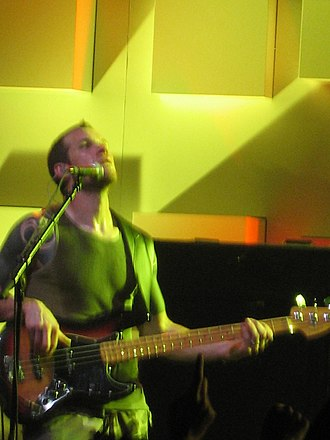 Tim Commerford - Commerford performing with Audioslave at the Montreux Jazz Festival in 2005