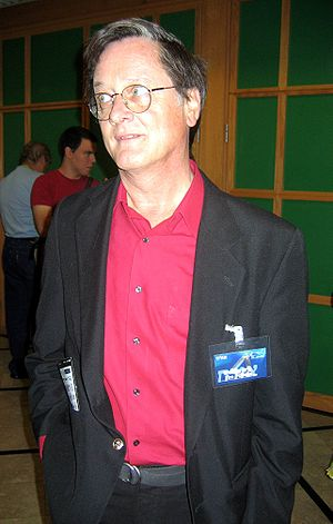Tim Powers - Powers at the annual ICon festival, a fan convention in Israel, October 2005