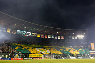 Timbers Army - The Army in March 2015