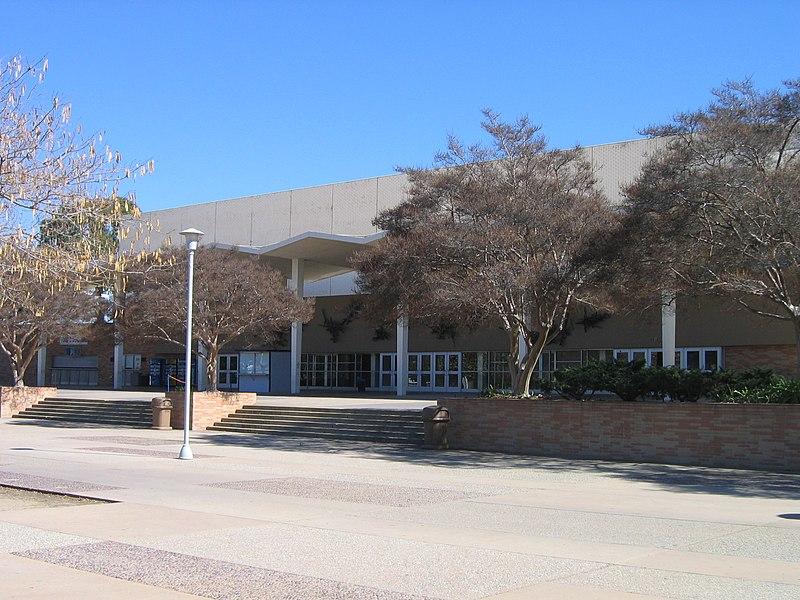Exterior of Titan Gym