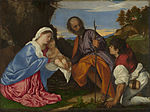 Titian - The Holy Family with a Shepherd - Google Art Project.jpg