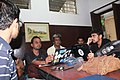 Tito Dutta of CIS inteacting with Bengali Wikipedia editors during Kolkata meetup.jpg
