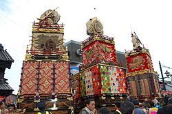 Tochigi autumn festival,festival car of Yorozucho1-2-3chome,tochigi city,japan.jpg