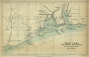 Map of Togoland in 1885.