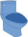 Toilet blue.svg