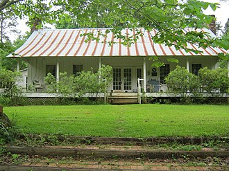 National Register of Historic Places listings in Nacogdoches County, Texas - Image: Tol Barret Houst
