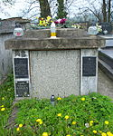 Tomb of Kędzierski family at Central Cemetery in Sanok (Matejki part) 1.jpg
