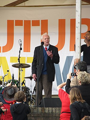 Tolpuddle Martyrs' Festival - Tony Benn speaking in 2012