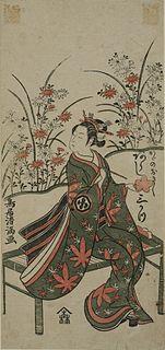 image of Torii Kiyomitsu from wikipedia
