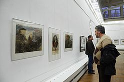 Tour de Minsk - Exhibition of drawings in Palace of Art, Minsk 23.10.2014 02.JPG