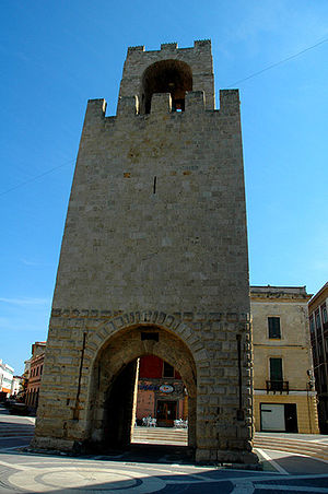 Giudicati - Tower of Marianus II of Arborea at Oristano.