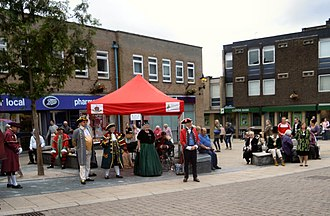 Town crier - A Town Criers Competition in Thetford in 2015