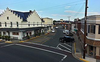 Purcellville, Virginia - Downtown Purcellville in November 2014