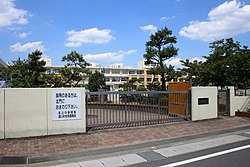 Toyoyama Town Toyoyama Junior High School 20160831.jpg