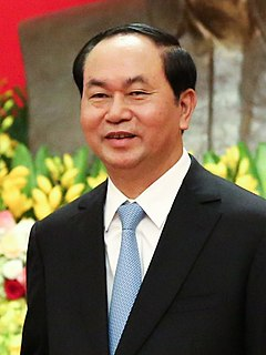 Trần Đại Quang President of Vietnam from 2016 to 2018