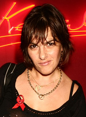 Tracey Emin - Emin at Lighthouse Gala auction in aid of Terrence Higgins Trust, 2007