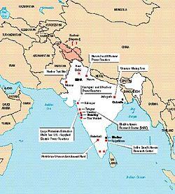 PokhranII Wikipedia - Us atomic bomb test sites maps
