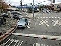 Traffic at Broadway crossing, December 2020.jpg