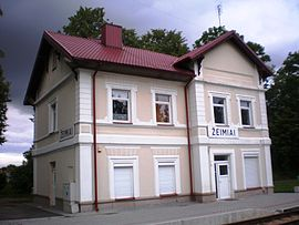 Train station of Žeimiai001.jpg
