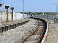 Train station platform in Heysham, Lancashire 3.jpg