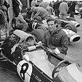 Training Zandvoort Grand Prix , Jim Clark bij zijn Lotus, Bestanddeelnr 917-9728.jpg