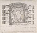 Transverse Section of the Small Theater at the Palace of Caserta, with a View of a Stage Design MET DP801615.jpg