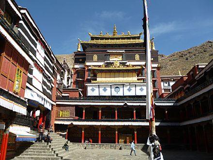 Zentraler Tempel und Sitz des Penchen Lama von Trashilhünpo