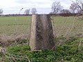 Triangulation pillar near Carlton-le-Moorland - geograph.org.uk - 1219743.jpg