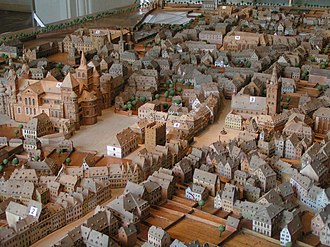 Trier - Scale Model of Trier around 1800