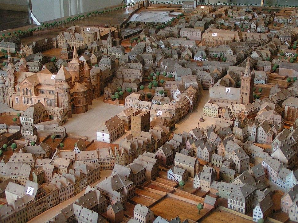 Trier Stadtmodell