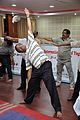 Trikonasana - International Day of Yoga Celebration - NCSM - Kolkata 2015-06-21 7331.JPG