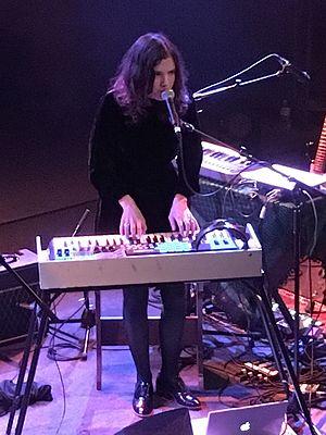 Tristen Gaspadarek - Tristen performing in Cambridge, Massachusetts in March 2017