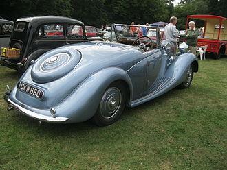 Triumph Dolomite (1934–40) - 1940 1767 cc l.w.b.