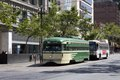 Trolley on Market Street in San Francisco, California LCCN2013631862.tif