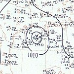 Tropical Storm Arlene surface analysis May 29 1959.jpg