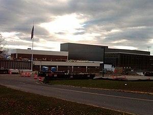 Trumbull High School - Front of Trumbull High School (under construction)