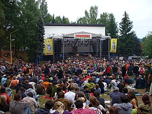 Trutnov Open Air Festival stage.JPG