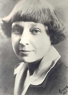 Marina Tsvetaeva Russian poet and writer