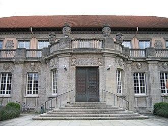 Paul Bonatz - Image: Tuebingen Uni Bibliothek
