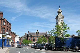 Tunstall, Staffordshire - Image: Tunstall tower square