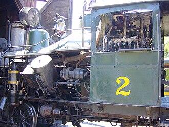 Heisler locomotive - Heisler technical view