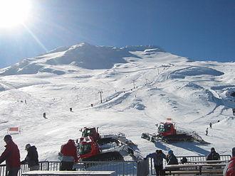 Mount Ruapehu - Turoa ski field.