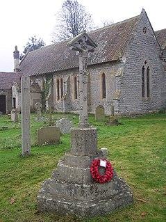 Twigworth village in United Kingdom