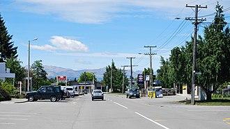 Twizel - Image: Twizel Tasman Road