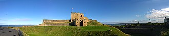 Tynemouth Castle and Priory - Image: Tynemouth Castle Panorama