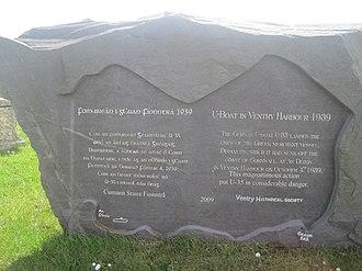 German submarine U-35 (1936) - Memorial for U-35 in Ventry