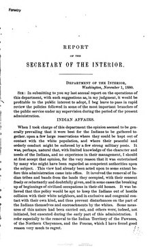 U.S. Department of the Interior Annual Report 1880.djvu